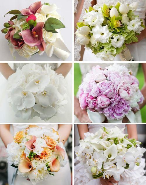 Цветы к подвенечному платью