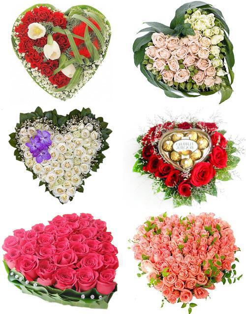Сердце из цветов цены