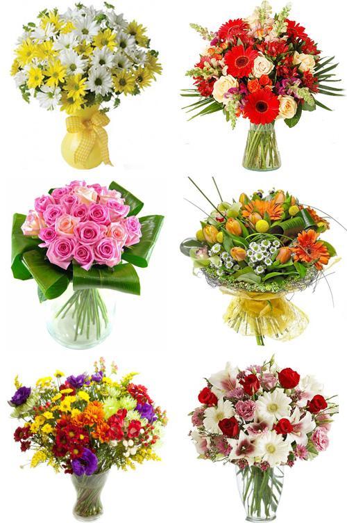 Купить цветы букет к 50 летию женщине фото букетов